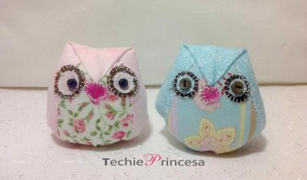 Handmade Owls by Techie Princesa