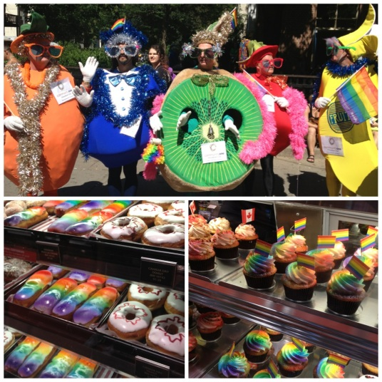Pride Donuts and Muffins