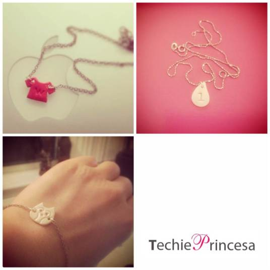 Techie Princesa Pendants