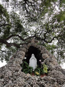 St. Michael's Catholic Church, temporary location in Kona, Big island, Hawaii