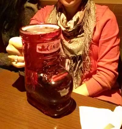 Team Canada Beer Mug