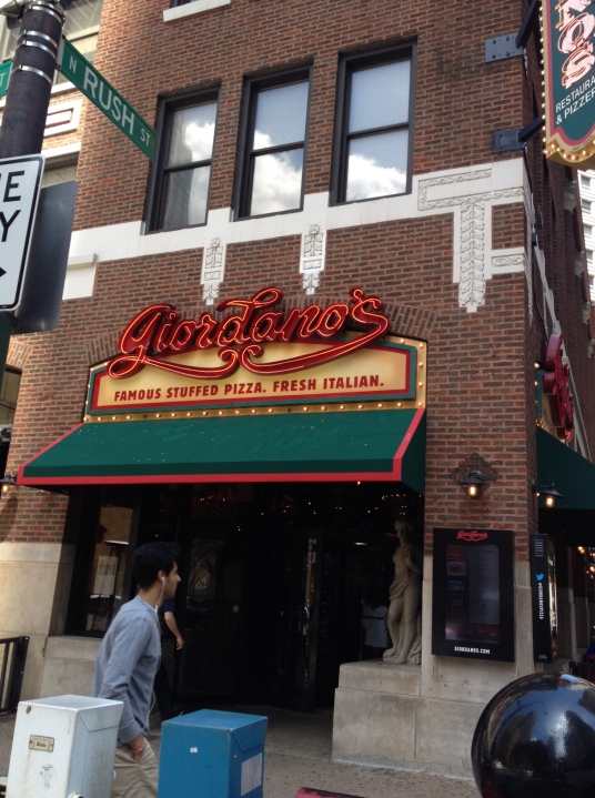 Giordano's famous stuffed pizza, Chicago