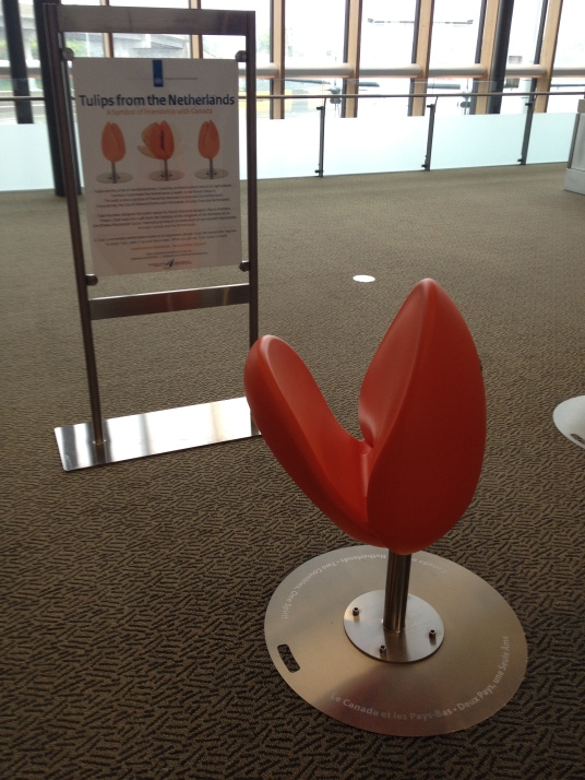 Tulip chairs @ Ottawa Airport