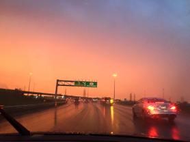 Sunset, Sky