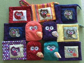 Happy Owl Wallets