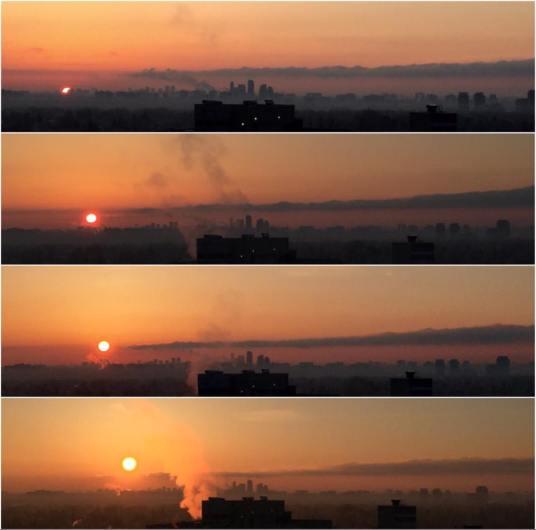 Sunrise, Toronto