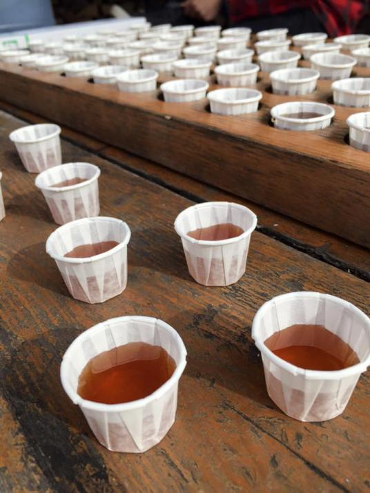 Maple Syrup Shots