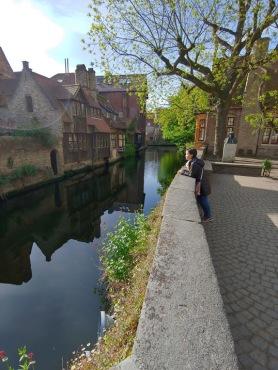 Sarah in Bruges, Belgium