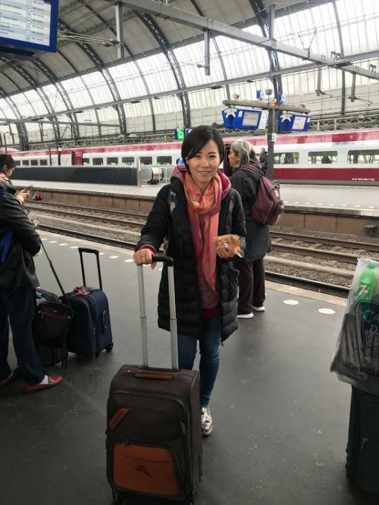 Sarah in Amsterdam, Netherland